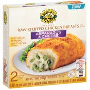 Barber Foods Asparagus and Cheese Stuffed Chicken Breast, 10 Ounce -- 12 per case.
