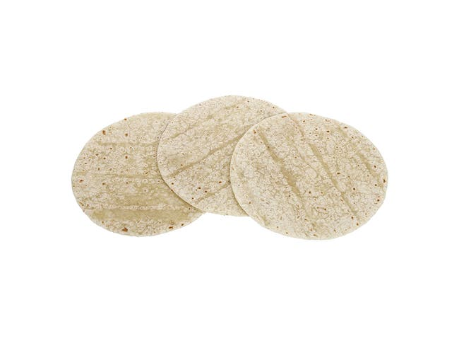 Mission Foods Fry Ready Flour Tortilla, 8 inch 12 count per pack -- 24 per case.