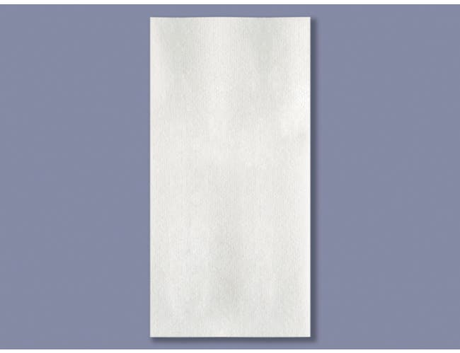 Smith Lee White Linen Saver Guest Towel Napkin, 15 x 17 inch - 125 per pack -- 4 packs per case.