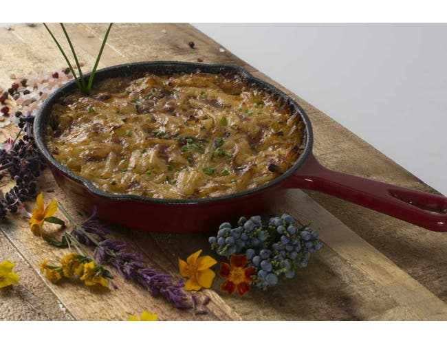 Carrington Potatoes and Cheddar Cheese Hash Brown Casserole, 7 Pound -- 2 per case.