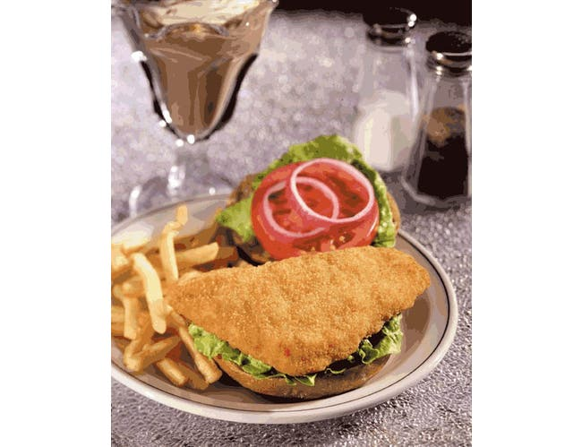 Viking Nordica Raw Breaded Flounder Fillet, 5 Ounce -- 1 each.