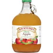R W Knudsen Organic Apple Cloudy Juice, 96 Fluid Ounce -- 6 per case