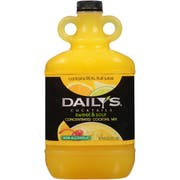 Dailys Sweet and Sour Concentrate Cocktail Mixer, 64 Fluid Ounce -- 9 per case.