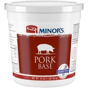 Nestle Minors No Added MSG Pork Base, 1 Pound -- 6 per case.