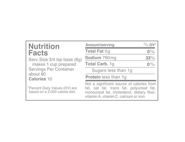 Nestle Minors No Added MSG Pork Base, 1 Pound -- 6 per case.