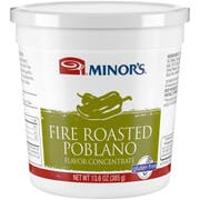 Minors Fire Roasted Poblano Flavor Concentrate, 13.6 Ounce -- 6 per case.