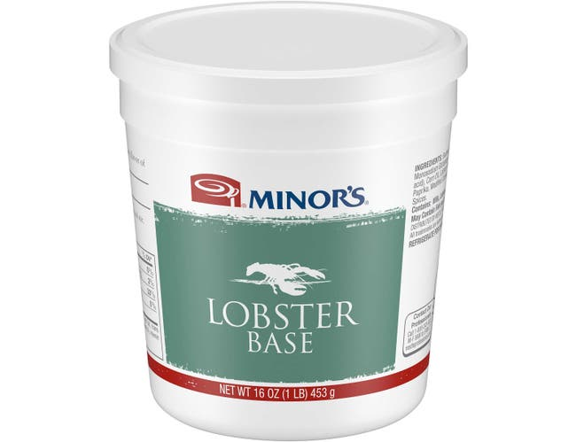 Nestle Minors Lobster Base, 1 Pound -- 6 per case.
