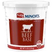 Nestle Minors No Added MSG Beef Base, 5 Pound -- 4 per case.