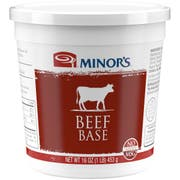 Nestle Minors LJM No Added MSG Beef Base, 1 Pound -- 6 per case.