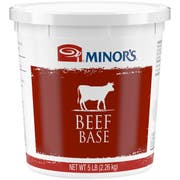 Nestle Minors Beef Base, 5 Pound -- 4 per case.
