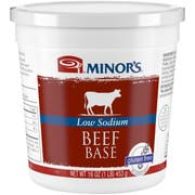 Nestle Minors Low Sodium Beef Base, 1 Pound -- 6 per case.