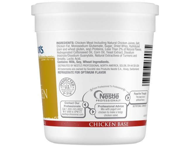 Nestle Minors Chicken Base, 1 Pound -- 12 per case.