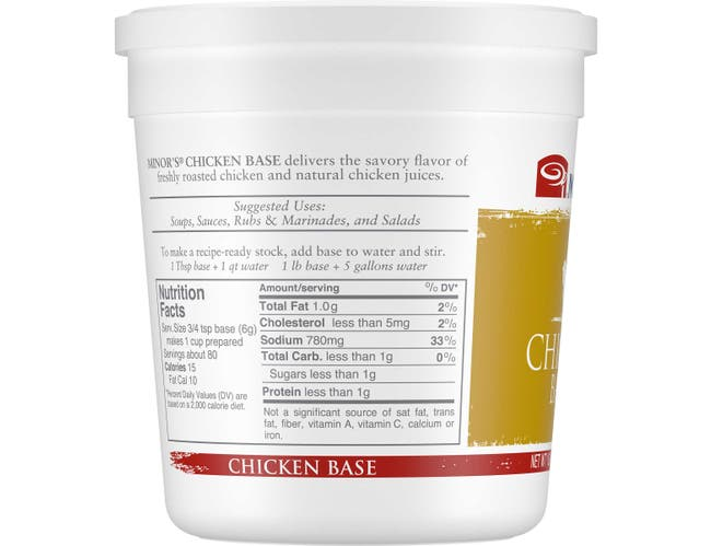 Nestle Minors Chicken Base, 1 Pound -- 6 per case.