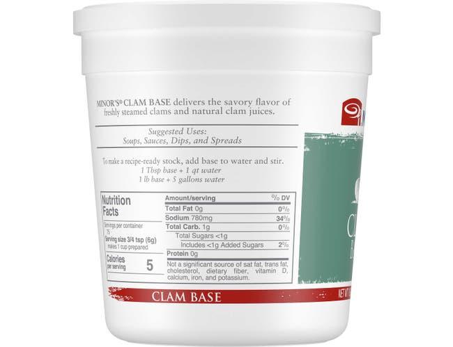Nestle No Added MSG Clam Base, 1 Pound -- 6 per case.