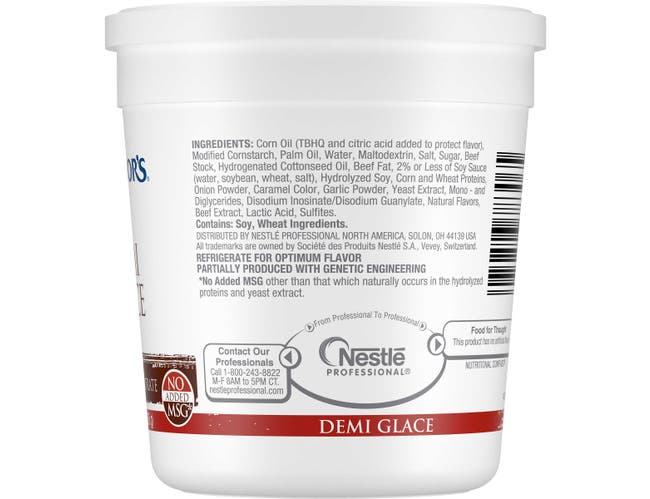 Nestle Minors Concentrate Demi Glace Sauce, 13.6 Ounce -- 6 per case.