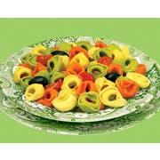 Seviroli Foods Marias Italian Feast Tortelloni Tricolor Pasta, 5 Pound -- 2 per case.