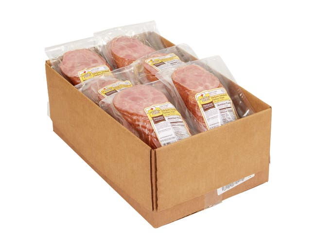 Foster Farms Fully Cooked Sliced Turkey Ham -- 6 per case.