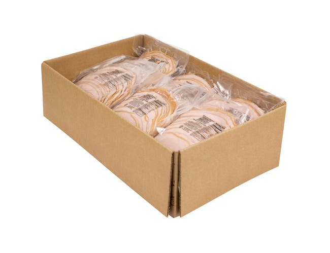 Foster Farms Sliced Smoked Turkey Breast and White Turkey, 20 Ounce -- 12 per case.