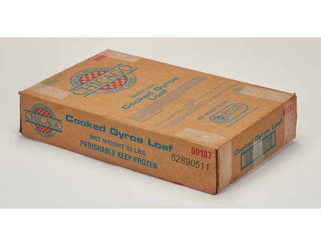 Grecian Delight Chicago Style Gyro Meat Loaf, 5.3 Pound -- 6 per case.