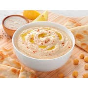 Grecian Delight Fresh Traditional Hummus, 0.5 Gallon -- 2 per case.