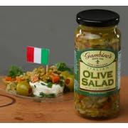 Gambinos Italian Olive Salad, 1 Gallon -- 2 per case.
