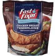 Fast Fixin Restaurant Style Breaded Chicken Breast Tenderloins, 20 Ounce -- 6 per case.