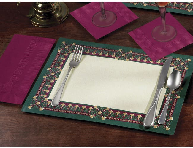 Smith Lee Regency Placemat, 9 3/4 x 14 inch -- 1000 per case.