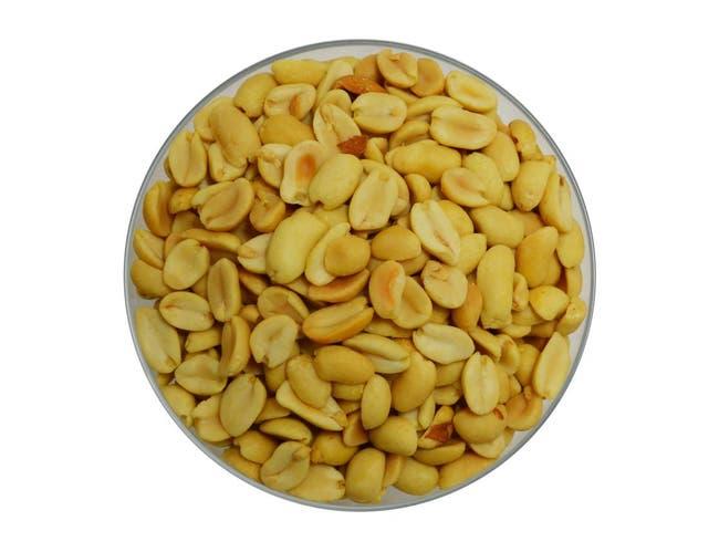 Azar Splits Unsalted Peanut, 30 Pound -- 1 each.