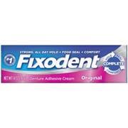 Procter and Gamble Fixodent Denture Original Cream - 6 count per pack -- 4 packs per case