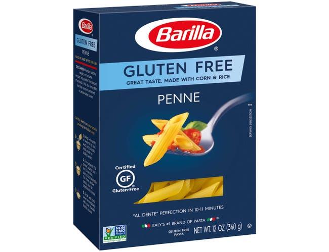 Barilla Gluten Free Penne Pasta, 12 Ounce -- 8 per case.