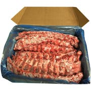 Johnsonville Uncooked Pork Back Rib, 30 Pound Box -- 1 each.