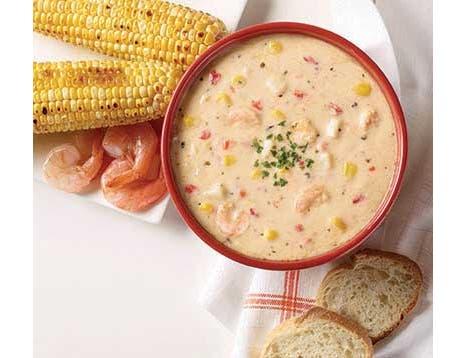 Blount Shrimp and Roasted Corn Soup, 4 Pound -- 4 per case.