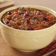 Blount Seafood Uncle Teddys Chunky Beef Chili Soup with Beans, 4 Pound -- 4 per case.