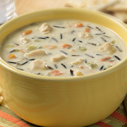 Blount Seafood Creamy Chicken and Wild Rice Soup, 4 Pound -- 4 per case.