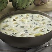 Blount Chicken Artichoke Florentine Soup Entree, 4 Pound -- 4 per case.