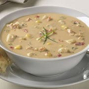 Blount Fine Foods Rip Roarin Crab and Corn Soup - 4 lb. package, 4 per case