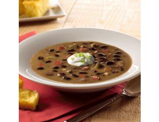 Blount Organic Black Bean Soup, 4 Pound -- 4 per case.