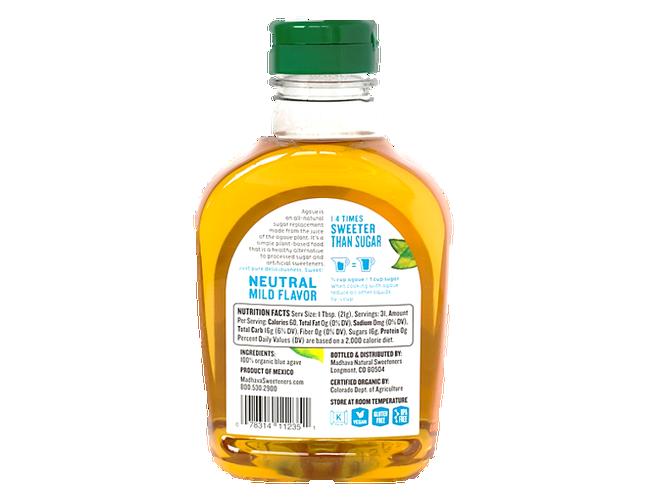 Madhava Organic Light Agave Nectar, 23.5 Ounce -- 6 per case