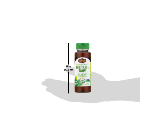 Madhava Organic Raw Agave Nectar, 11.75 Ounce -- 6 per case