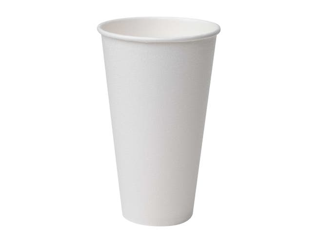 PerfecTouch 16 Ounce Insulated Paper Hot Cup Simply White -- 1000 per case.