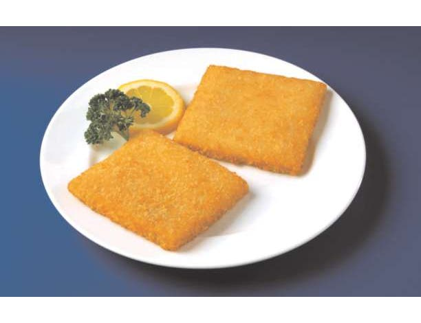 Japanese Bread Crumb Crispy Style Square Cod, 4 Ounce of 39-41 Pieces, 10 Pound -- 1 each.