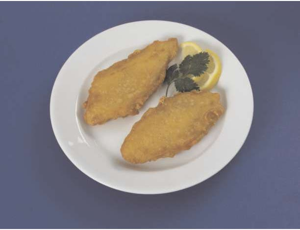 Original Piccadilly Pub Style Batter Pollock Fillet, 2 Ounce of 64-107 Pieces, 10 Pound -- 1 each.