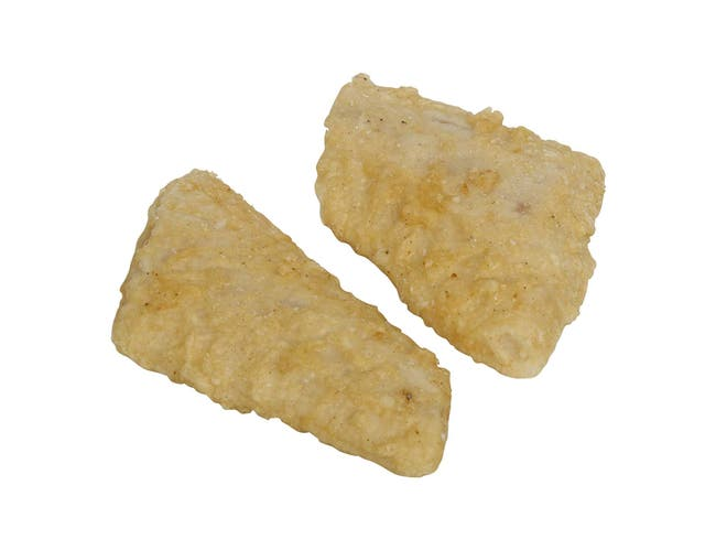 Original Piccadilly Pub Style Batter Pollock Fillet, 3 Ounce of 46-64 Pieces, 10 Pound -- 1 each.