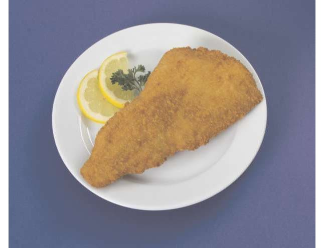 Japanese Bread Crumb Crispy Style Natural Flounder Fillet, 5 Ounce of 28-35 Pieces, 10 Pound -- 1 each.