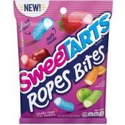 Sweetart Medium Ropes Bites, 5.25 Ounce Peg Bag -- 12 per case