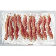 Covered Wagon Extra Thin Fully Cooked Bacon, 1.25 Pound -- 2 per case.