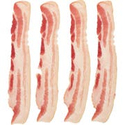 Wright Natural Applewood Smoked Flat Pack Bacon, 10 Pound -- 2 per case.