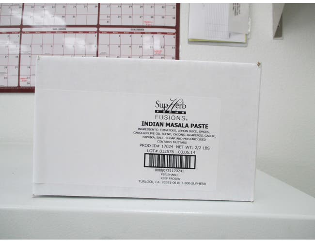 SupHerb Farms Indian Masala Paste, 2 Pound -- 2 per case.