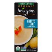Imagine Organic Creamy Potato Leek Soup - 32 ounce  -- 12 per case.