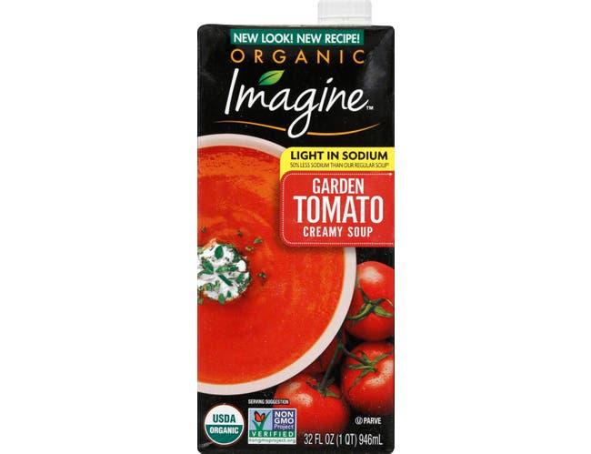 Imagine Foods Organic Creamy Tomato Soup, 32 Ounce -- 12 per case.